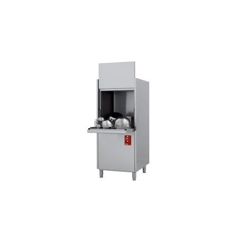 D701-EKS típusú ipari, nagykonyhai, Fekete edény mosogató gép, ládamosó gép