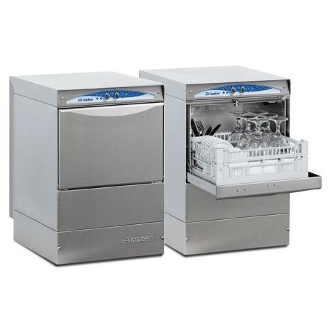 Lamber DSP2 DOS PS típusú, ipari pohármosogató gép, ürítőszivattyúval és mosogatószer adagolóval