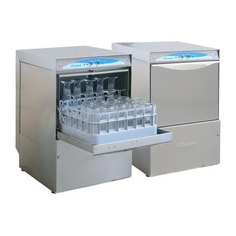 Lamber DSP26 DOS típusú, ipari- nagykonyhai pohármosogató gép, mosogatószer adagolóval