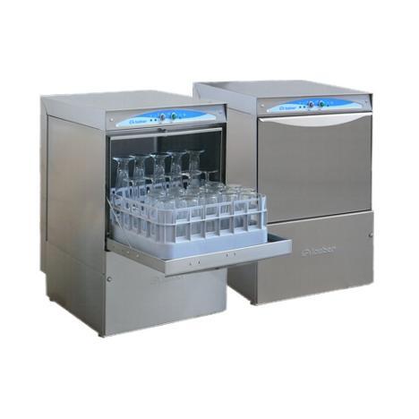 Lamber DSP3 DOS típusú, ipari- nagykonyhai pohármosogató gép, mosogatószer adagolóval