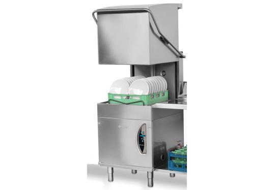 015/24Ldy típusú, ipari- nagykonyhai tányér és pohármosogató gép
