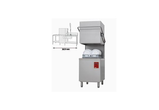 015/25D-NP/B-D típusú ipari, nagykonyhai, Tányér és pohármosogató gép