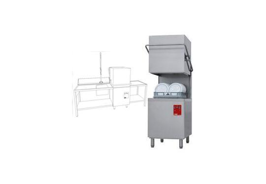 015/25D-NP/B-S típusú ipari, nagykonyhai, Tányér és pohármosogató gép