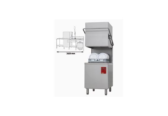 015/25D-NP/C-D típusú ipari, nagykonyhai, Tányér és pohármosogató gép