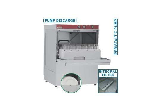 046D/6-PS típusú ipari, nagykonyhai, Tányér és pohármosogató gép