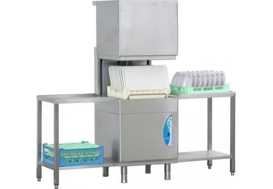 A410ek típusú, ipari- nagykonyhai tányér és pohármosogató gép