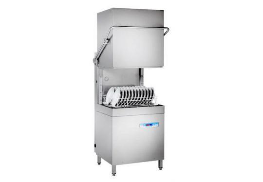 Hoonved CAP15EBT típusú ipari nagykonyhai átmenő rendszerű kalapos mosogatógép