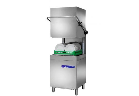 Hoonved CAP7EP típusú ipari nagykonyhai átmenő rendszerű kalapos mosogatógép