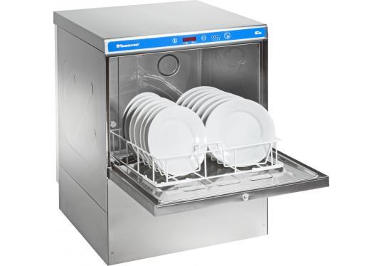 Hoonved CE53 típusú ipari nagykonyhai tányér- és pohármosogatógép