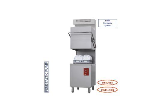 D26/EKS-NP-RC típusú ipari, nagykonyhai, Tányér és pohármosogató gép