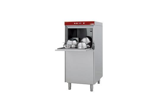 D604-EKS típusú ipari, nagykonyhai, Fekete edény mosogató gép, ládamosó gép