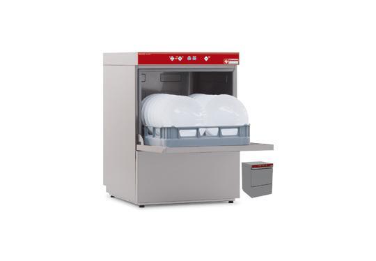 D86/EK-NP típusú ipari, nagykonyhai, Tányér és pohármosogató gép