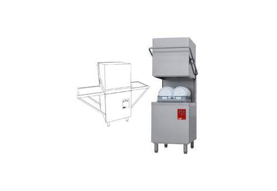 DK7/2-NP/A típusú ipari, nagykonyhai, Tányér és pohármosogató gép