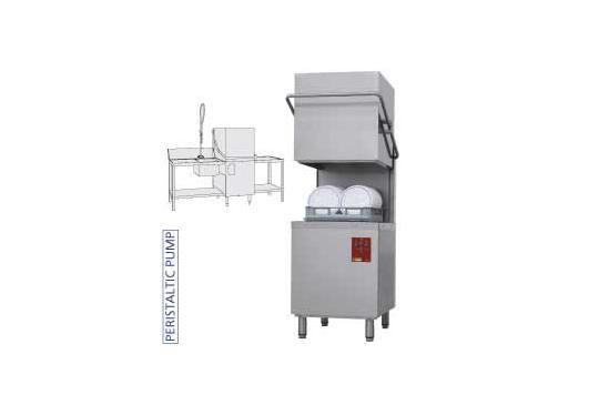 DK7/2-NP/B-S típusú ipari, nagykonyhai, Tányér és pohármosogató gép