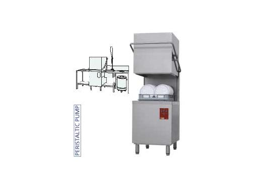 DK7/2-NP/C-D típusú ipari, nagykonyhai, Tányér és pohármosogató gép