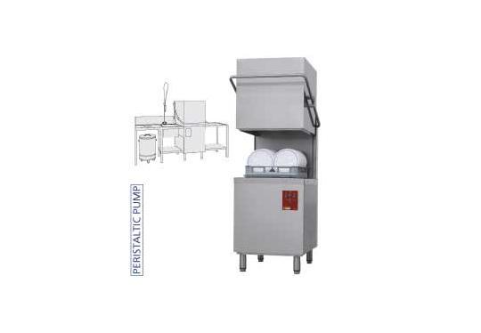 DK7/2-NP/C-S típusú ipari, nagykonyhai, Tányér és pohármosogató gép