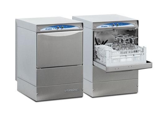 Lamber DSP2 DOS típusú, ipari pohármosogató gép, mosogatószer adagolóval