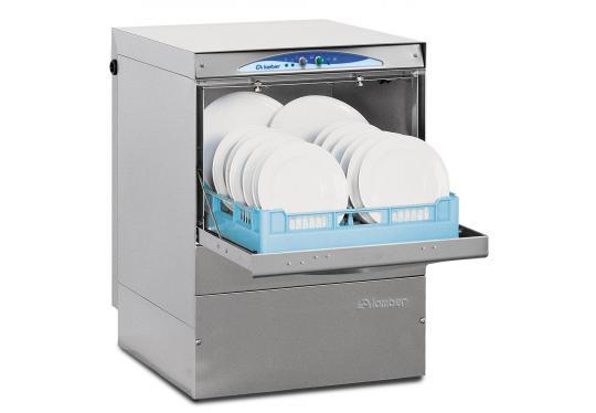 Lamber DSP4 DOS 400/230V, ipari tányér és pohármosogató gép, mosogatószer adagolóval