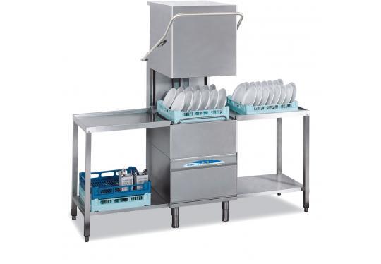 Lamber DSP5 DOS, ipari tányér és pohármosogató gép, mosogatószer adagolóval