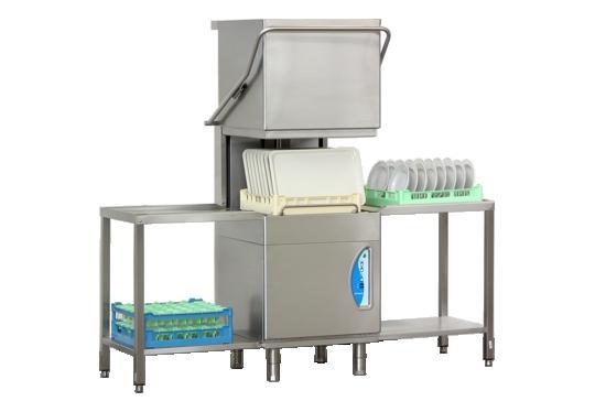 GS25ek típusú, ipari- nagykonyhai tányér és pohármosogató gép