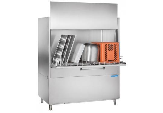 Hoonved HD130BT típusú ipari nagykonyhai feketeedény mosogatógép
