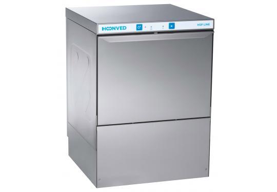 Hoonved HSP50 típusú ipari nagykonyhai tányér- és pohármosogatógép
