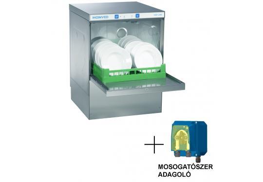 Hoonved HSP5 OPTI típusú ipari nagykonyhai tányér- és pohármosogatógép