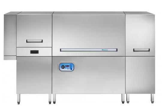 Hoonved HTP205 típusú ipari nagykonyhai alagút rendszerű mosogatógép