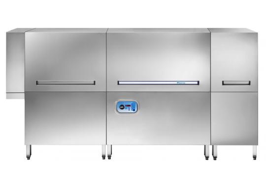 Hoonved HTP220 típusú ipari nagykonyhai alagút rendszerű mosogatógép