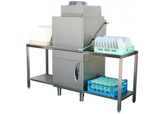 LC305dyCV típusú, ipari- nagykonyhai tányér és pohármosogató gép