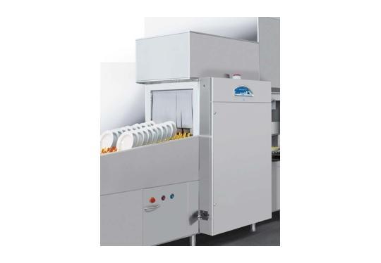 Linear100ek típusú, ipari- nagykonyhai futószalagos rendszerű mosogatógép