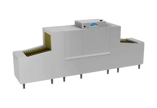 Linear20ek típusú, ipari- nagykonyhai futószalagos rendszerű mosogatógép