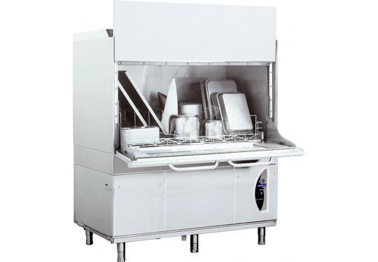 LP31Ldy típusú, ipari- nagykonyhai feketeedény mosogató gép, ládamosogató gép