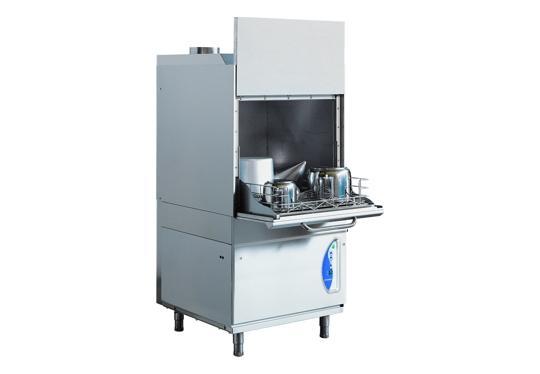 LP6Ldy típusú, ipari- nagykonyhai feketeedény mosogató gép, ládamosogató gép