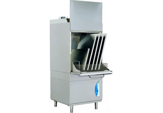 LP8Ldy típusú, ipari- nagykonyhai feketeedény mosogató gép, ládamosogató gép