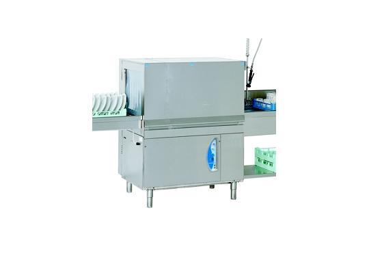 M115 típusú, ipari- nagykonyhai alagút rendszerű folyamatos üzemű mosogatógép