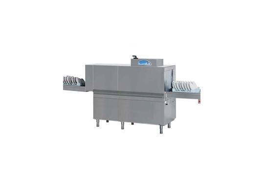 M150 típusú, ipari- nagykonyhai alagút rendszerű folyamatos üzemű mosogatógép