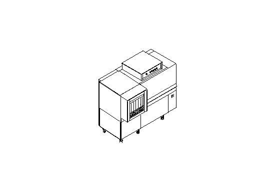 M150A típusú, ipari- nagykonyhai alagút rendszerű folyamatos üzemű mosogatógép