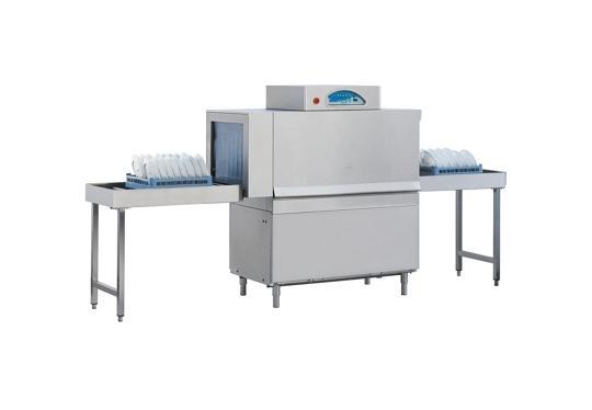 Matic10 típusú, ipari- nagykonyhai alagút rendszerű folyamatos üzemű mosogatógép