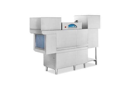Matic39 típusú, ipari- nagykonyhai alagút rendszerű folyamatos üzemű mosogatógép