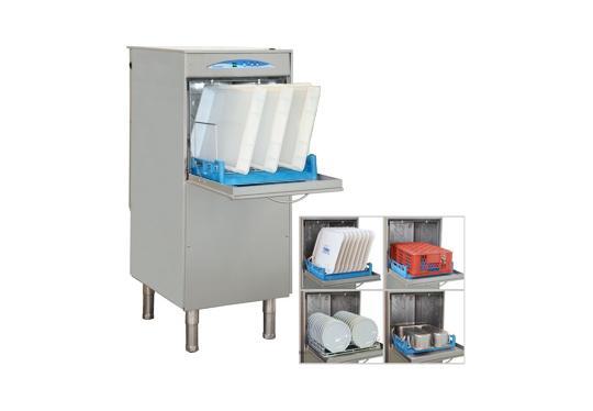 P440ek típusú, ipari- nagykonyhai tányér és pohármosogató gép