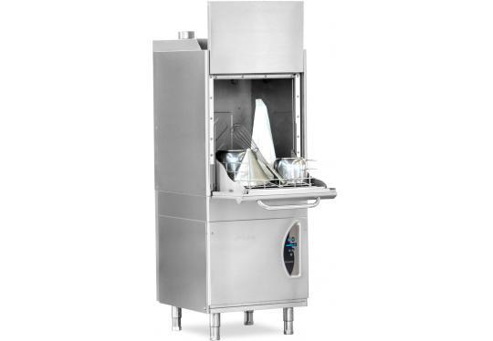 P550dy típusú, ipari- nagykonyhai feketeedény mosogató gép, ládamosogató gép