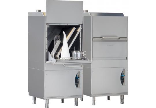 P700dy típusú, ipari- nagykonyhai feketeedény mosogató gép, ládamosogató gép