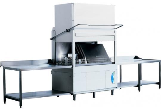 PT1500Lek típusú, ipari- nagykonyhai feketeedény mosogató gép, ládamosogató gép