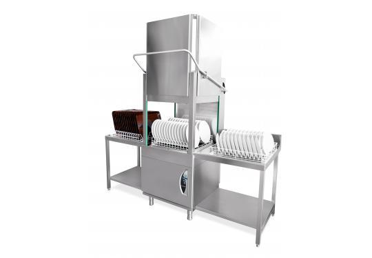 PT800dy típusú, ipari- nagykonyhai tányér és pohármosogató gép