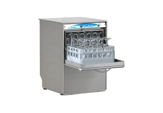 S400ek típusú, ipari- nagykonyhai pohármosogató gép